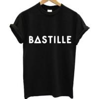 Tshirt / Kaos / Baju Bastille - Hitam