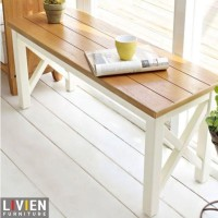 harga LIVIEN- Kursi Kayu / Bench Maple Story / Bangku Kayu / Mebel Furniture Tokopedia.com