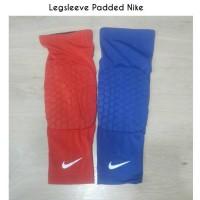 Leg Sleeve With Pad Nike ( Biru dan Merah )