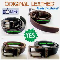 Grosir Ikat pinggang/Sabuk kulit asli Garut termurah IPK-01