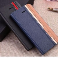 Leather Flip Cover Lenovo Vibe K5 Plus Soft Hard Case HP Wallet Casing