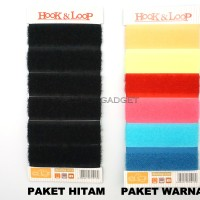 Kabel Velcro Pengikat Kabel Velcro Cable Cable Ties (Isi 6pcs)
