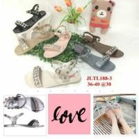 harga Jelly Sandal Wanita Barabara Sepatu Sendal Wanita Import 188-3 Tokopedia.com