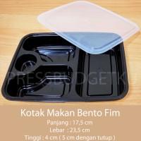 box bento / lunch box / kotak makan / tempat makan sekat 4