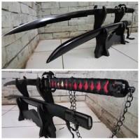 pedang samurai/katana ichigo bankai ultimate