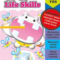 Gakken Workbooks - Go Go Life Skills 2-4 yo