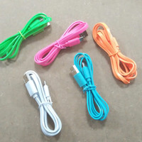 PROMO Kabel Hippo Caby Micro Candy Warna Gepeng / For Bb, Samsung, Dll