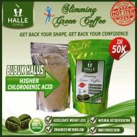 Jual Slimming Green Coffee/Kopi Hijau Diet Halle Coffee 250grm Bubuk Halus Murah