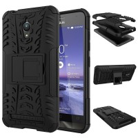 Armor Stand Asus Zenfone Go ZC500TG Hard Soft Case Casing HP Silikon