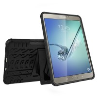 Tablet Armor Samsung Galaxy Tab S2 8.0 TPU Stand Hard Soft Case Casing