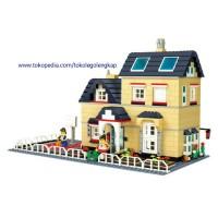 lego kw rumah villa city wange 34052 creation villa