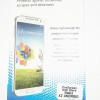 Nokia X2 Android AntiGores Anti gores Screen Protector Guard Clear