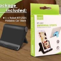 ROBOT RT-US01 Foldable Universal Stand Holder Mount Hp Gadget Black