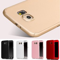 Casing Hp Cover Samsung Note 3 4 5 360 Case Free Tempered Glass