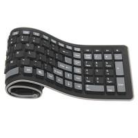Mini Flexible Keyboard Mediatech / Keyboard Gulung - Black