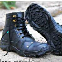 Sepatu Kulit Sneakers Hitam Style Anak Motor /Terlaris /Import/ SPTK40
