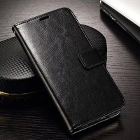 Samsung Galaxy S5 Wallet Pouch flip Cover Card Case Leather Vintage