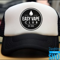 TOPI TRUCKER / JARING EASY VAPE CLUB SS4 - JASPIROW SHOPPING