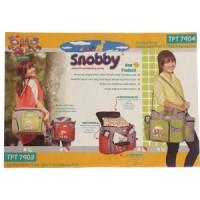 Tas bayi besar snobby saku print amazing - TBS082/83