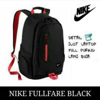 Jual Tas Ransel anak laptop Sekolah pria / wanita / cowok remaja Nike Murah Murah
