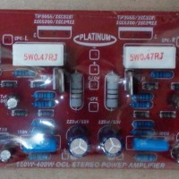 harga Kit Amplifier Dms-075/stereo Power Amplifier 150w Ocl Tokopedia.com