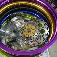 harga velg satria fu paket tromol velg jari jari disc cakram Tokopedia.com