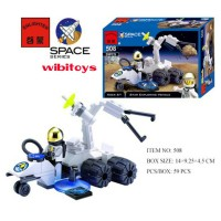 Space Series city Minifigure lego Pesawat 08