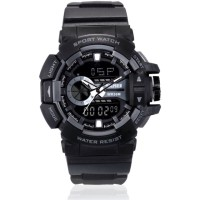 Jam Tangan Pria / SKMEI Casio Men / Digital LED + Analog / AD 1117