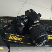 Kamera DSLR Nikon D3100 + Lensa Kit 18-55
