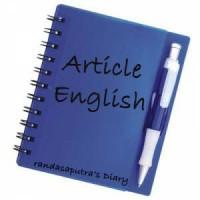 Jual artikel bahasa inggris murah