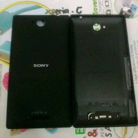 Back door/Back cover Ori Sony Xperia C/C2305 (Hitam)