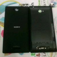 Back door/Back cover Ori Sony Xperia C/C2305 (Hitam)