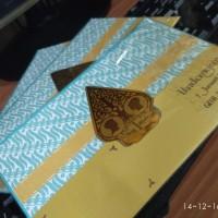 Undangan Pernikahan Exclusive Yogi & Maida [Single Hardcover Adat Jawa