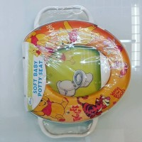 Ring closet / potty seat handle winnie the pooh
