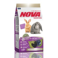 Nova Mixed Berries Rabbit Food 1kg Makanan Kelinci Marmut Guinea Pig