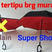 Jual Payung Terbalik Reverse Umbrella Gagang C Murah