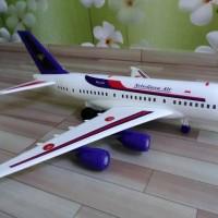 Jual Miniatur Pesawat Garuda Indonesia dan Sriwijaya/mainan pesawat terbang Murah