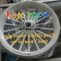 harga Velg Power Classic Putih Vario Lama/ Beat. Tokopedia.com
