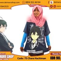 Kaos Hachiman Hikigaya DeiMaruShop Anime Manga [TS Chara Hachiman]