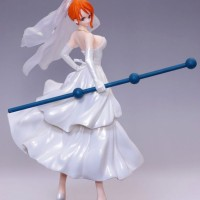 Action Figure PVC Nami Wedding Dress Scultures 4 Vol 2 One Piece