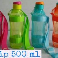 Eco Bottle flip 500ml Tupperware + Tali