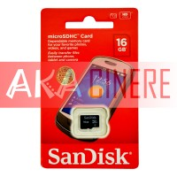 MicroSD Sandisk 16GB Class 4