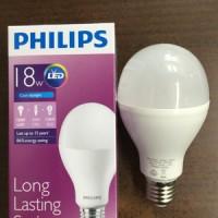harga Lampu Bohlam LED Philips 18 Watt Cool Daylight/Putih (18W 18Watt 18 W) Tokopedia.com