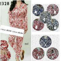 harga Piyama Satin motif batik tgn pjg (free belt/kimono) Tokopedia.com