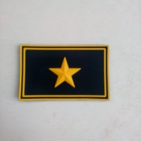 patch rubber bintang 1 kuning