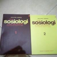 Teori Sosiologi Klasik Dan Modern Jilid 1 & 2 - Doyle Paul