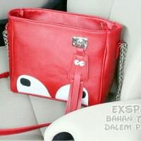 Tas Handbag Slempang Sling Bag muimui mumu eye korea rantai