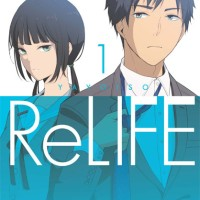Manga Komik Novel Anime ReLife Vol.1
