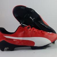 Sepatu Bola Puma Evospeed SL Red FG Replika Impor 17c84ec093