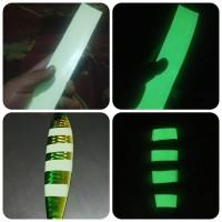 Sticker GID 5 x 25 cm - Glow In the D ark